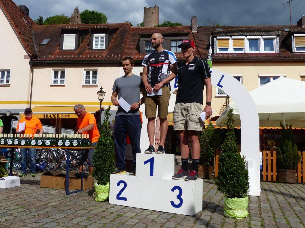 Drei Flüsse Triathlon Gemünden 2017