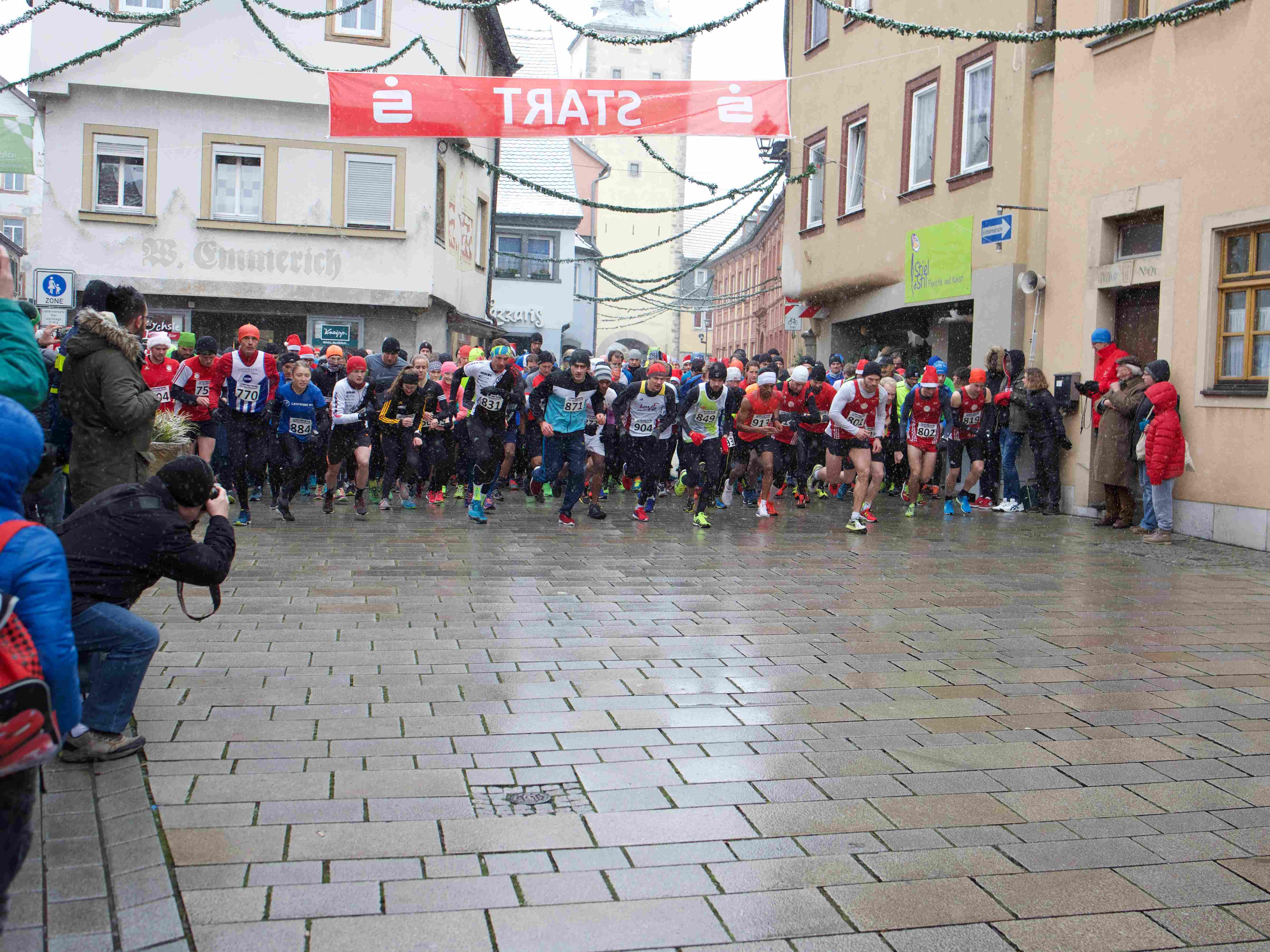 Start Nikolauslauf 2017