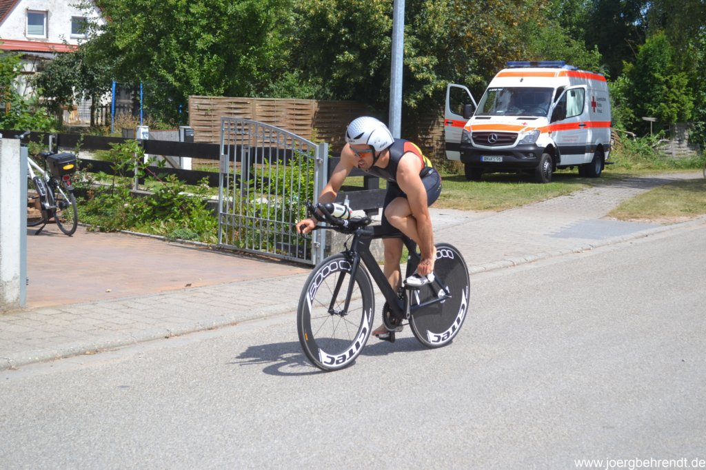 Triathlon Leutershausen Rad