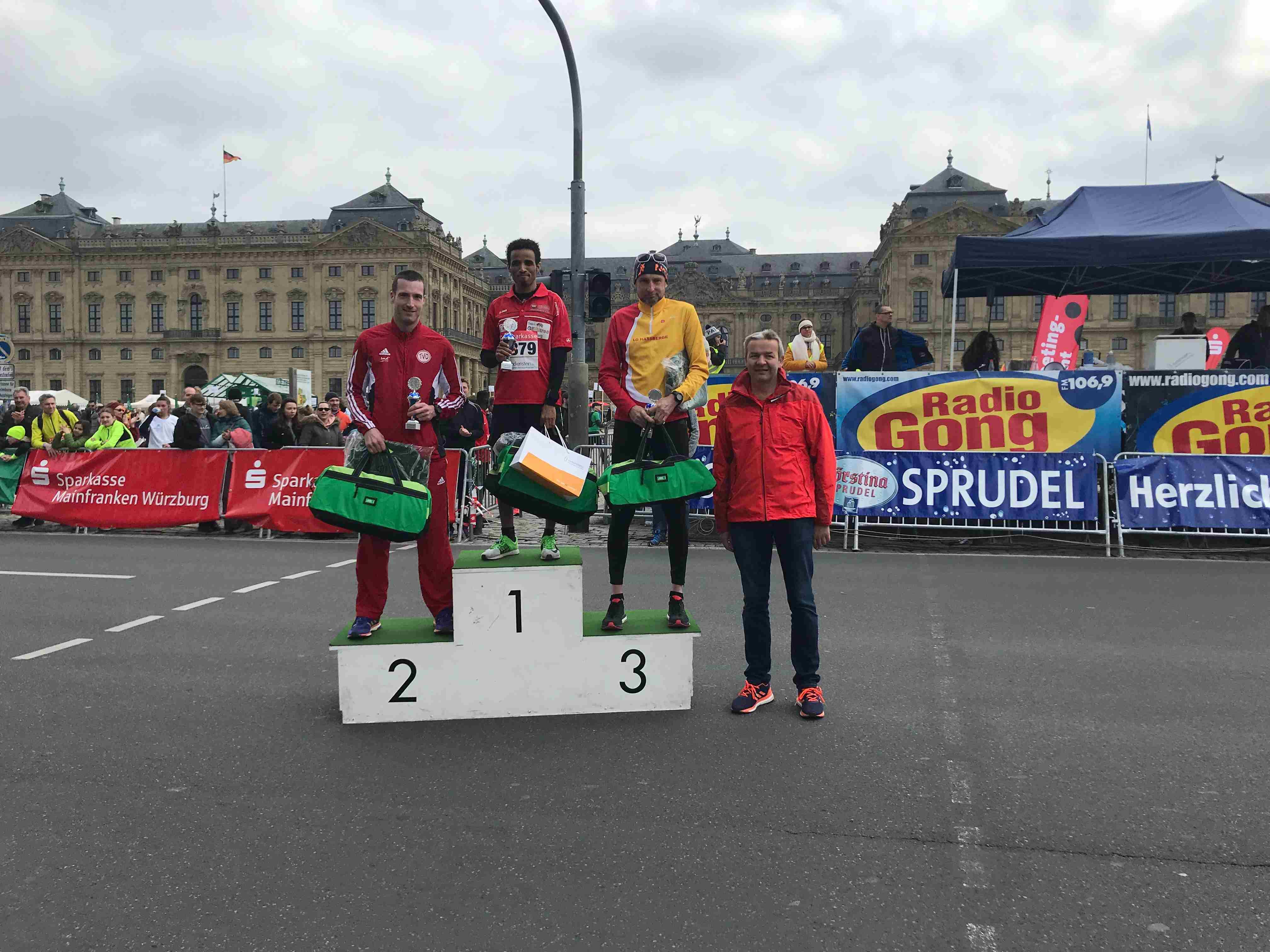 Siegerehrung 5km Residenzlauf 2019