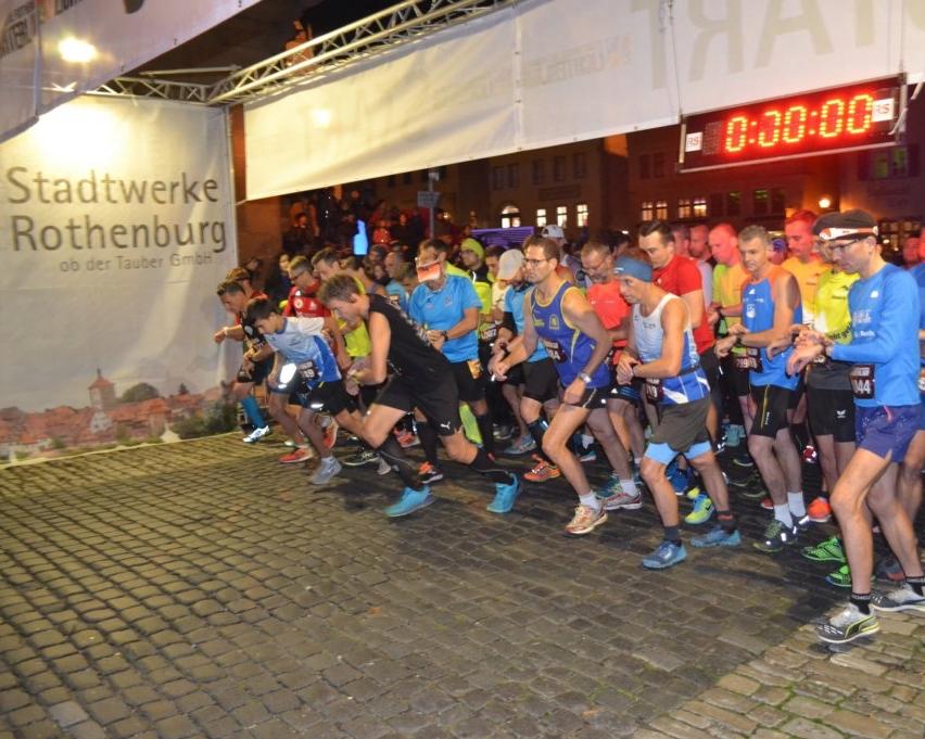 Lichterlauf Rothenburg